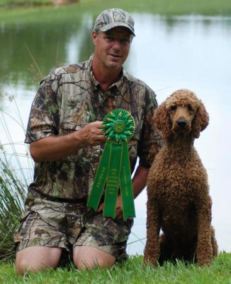 Bremer with his rosette